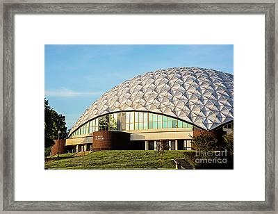 Ae Wood Coliseum Framed Print by Scott Pellegrin