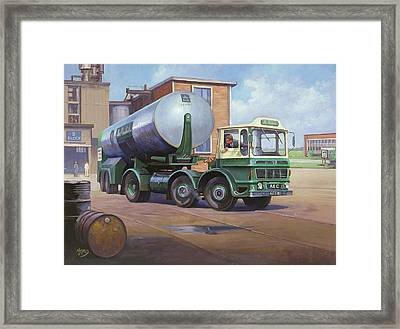 Aec Air Products Framed Print by Mike  Jeffries