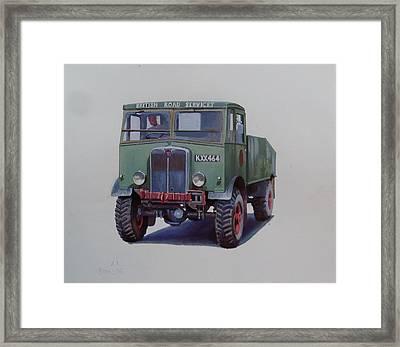 Aec Matador Brs. Framed Print