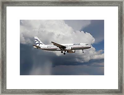 Aegian Airlines Framed Print