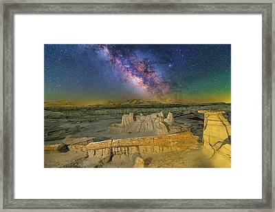 Aeons Of Time Framed Print