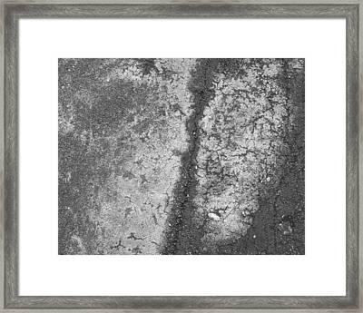 Aerial Asphalt 2 Framed Print by Anna Villarreal Garbis