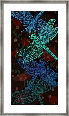 Aerial Dance Framed Print