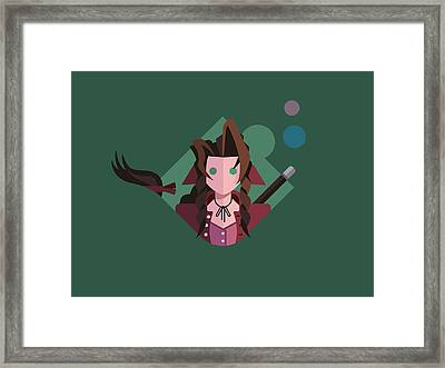 Framed Print featuring the digital art Aeris by Michael Myers
