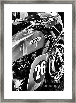 Aermacchi Harley Davidson Framed Print