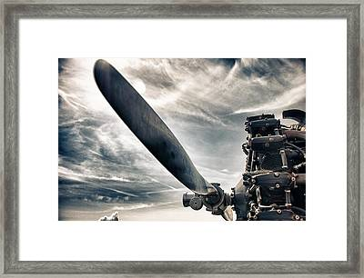 Aero Machine Framed Print