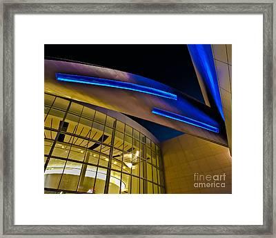 Aero Push Framed Print by Brian Tye