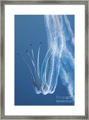 Aerobatics Display Framed Print