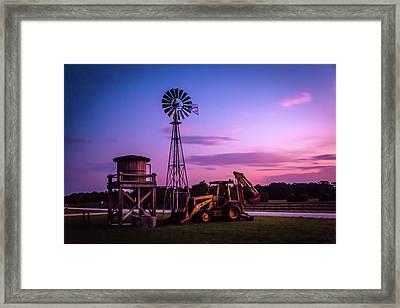 Aeromotor Windmill Framed Print