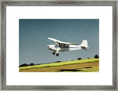 Framed Print featuring the photograph Aeronca 7a C by James Barber