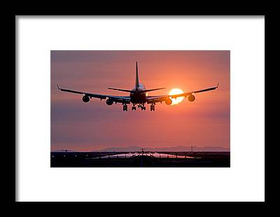Vancouver International Airport Framed Prints