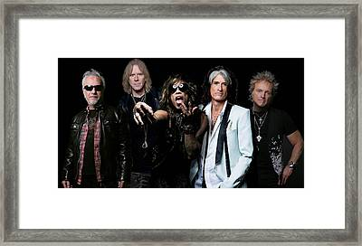 Aerosmith Framed Print