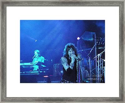 Aerosmith-steven Tyler-00107 Framed Print by Gary Gingrich Galleries
