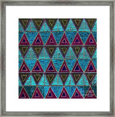 Aesthetic Harmony Framed Print by Norma Appleton