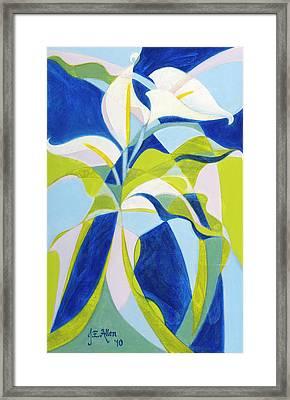 Aethiopica Framed Print by Joseph Edward Allen
