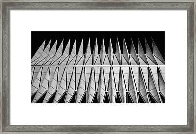 A F A Cadet Chapel Framed Print