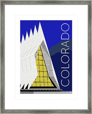 Colorado Afa Chapel Framed Print