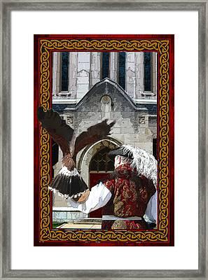 The Falconer Framed Print