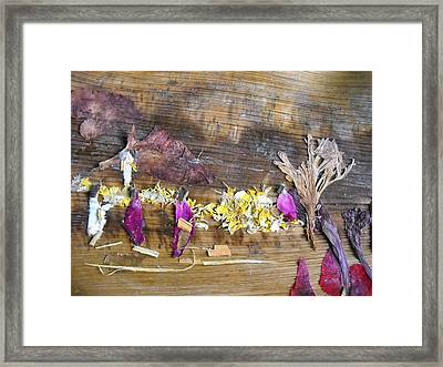 Affect In Rescue Operation  Framed Print