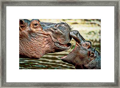 Affection Framed Print