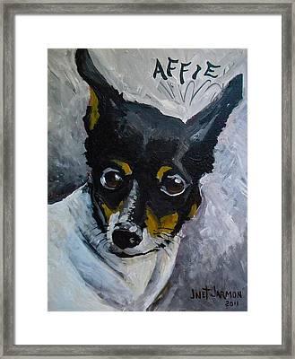 Affie Framed Print
