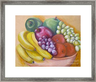 Framed Print featuring the painting Affluent by Saundra Johnson