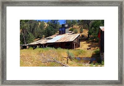 Affordable Housing Kern County Framed Print