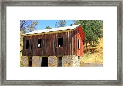 Fixer Upper Kern County Framed Print