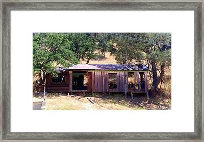 Cozy Cottage Kern County Framed Print