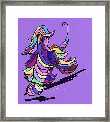 Afghan Colors Framed Print