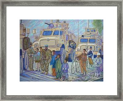 Afghanistan 2009 Framed Print