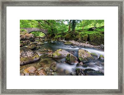 Afon Lledr Bridge Framed Print