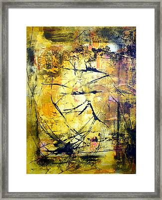 Aforethought Abstract Framed Print