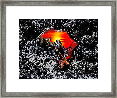 Africa 03a Framed Print by Brian Reaves
