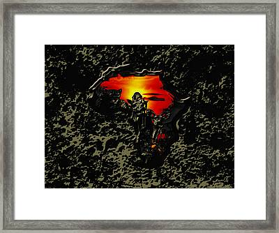Africa 03b Framed Print by Brian Reaves