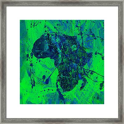 Africa 12c Framed Print by Brian Reaves