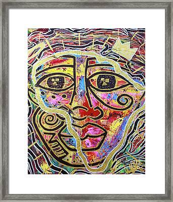 Africa Center Of The World Framed Print