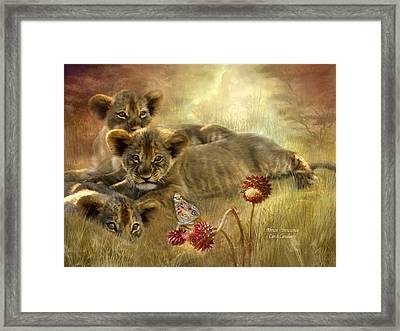 Africa - Innocence Framed Print