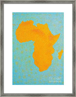 Africa No Borders Framed Print