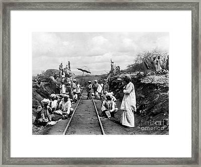 Africa: Railway, C1905 Framed Print by Granger