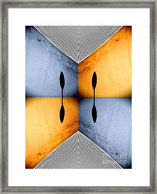 African Abstract Framed Print by Emilio Lovisa