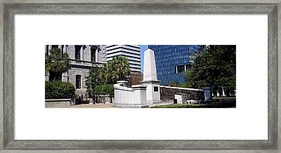 African American History Monument Framed Print