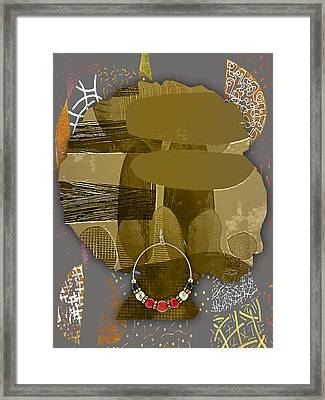 African American  Framed Print