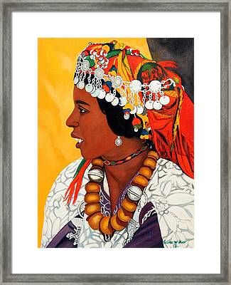 African Beauty Framed Print by Patrick Hunt