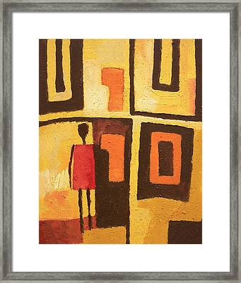 African Decor Framed Print by Lutz Baar