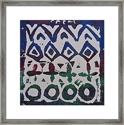 African Design  Framed Print by Caroline Street