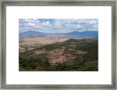 African Great Rift Valley Framed Print by Aidan Moran