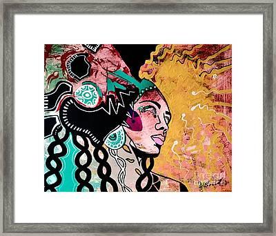 African Gypsy Framed Print