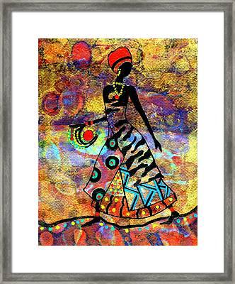 African Healer New Color Framed Print