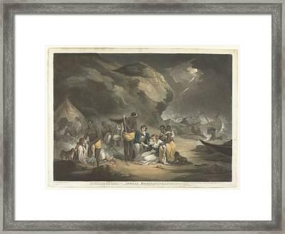 African Hospitality, John Raphael Smith, After George Morland, 1762 - 1812 Framed Print